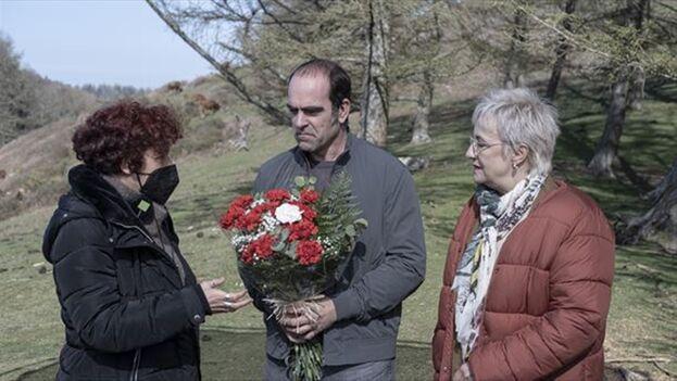 Icíar Bollaín, Luis Tosar y Blanca Portillo. (ETBi)